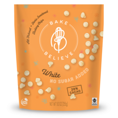 Bake Believe Bake Believe White Chocolate Chips (255g)