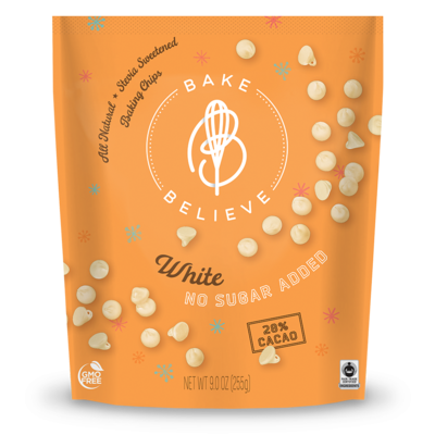 Bake Believe Bake Believe White Chocolate Chips (255g)