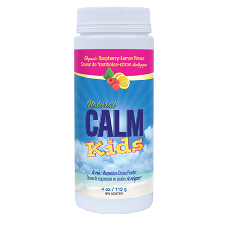 Natural Calm Natural Calm for Kids - Raspberry Lemon (4 oz.)