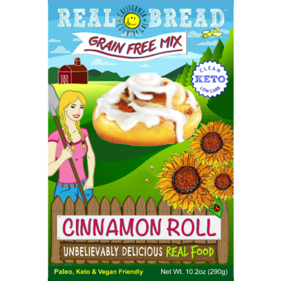 Real Bread California Country Gal Cinnamon Roll Baking Mix