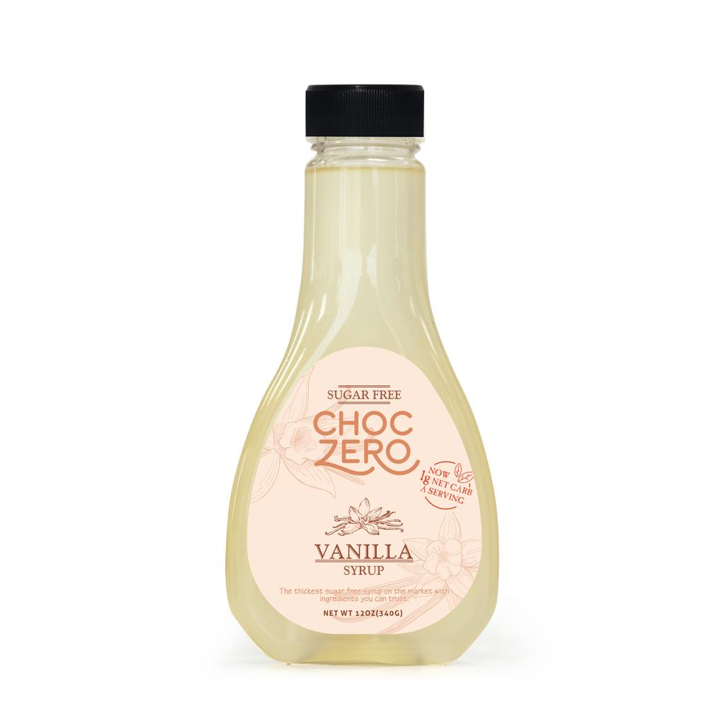 ChocZero Sugar-Free Honest Syrup, Vanilla