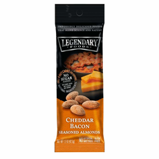 Legendary Foods Legendary Nuts: Cheddar Bacon Seasoned Almonds