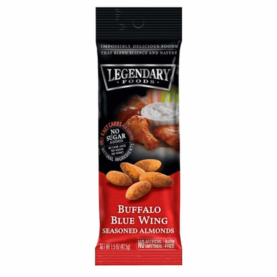 Legendary Foods Legendary Nuts: Buffalo Blue Wing Seasoned Almonds