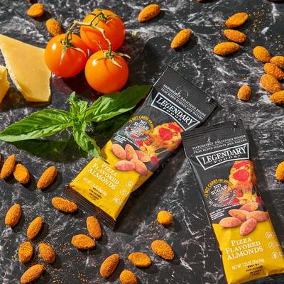 Legendary Foods Legendary Nuts: Pizza Flavoured Almonds