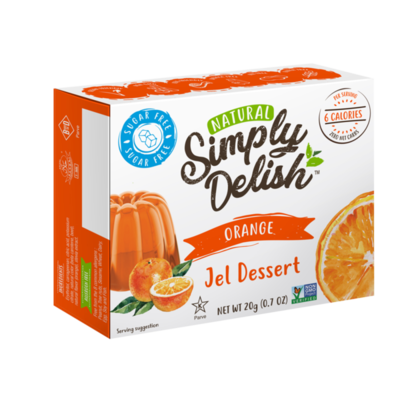 Simply Delish Simply Delish Sugar-Free Jel Dessert, Orange