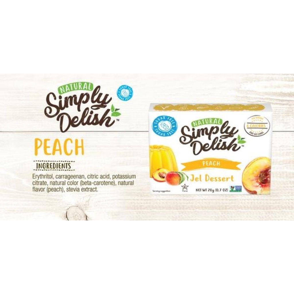 Simply Delish Simply Delish Sugar-Free Jel Dessert, Peach