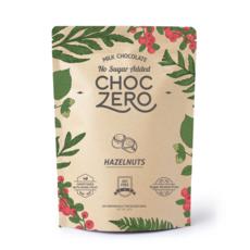 ChocZero Keto Bark, Milk Chocolate with Hazelnuts