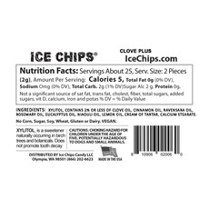Ice Chips Ice Chips - Clove Plus