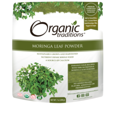Organic Traditions Organic Traditions Moringa Leaf Powder