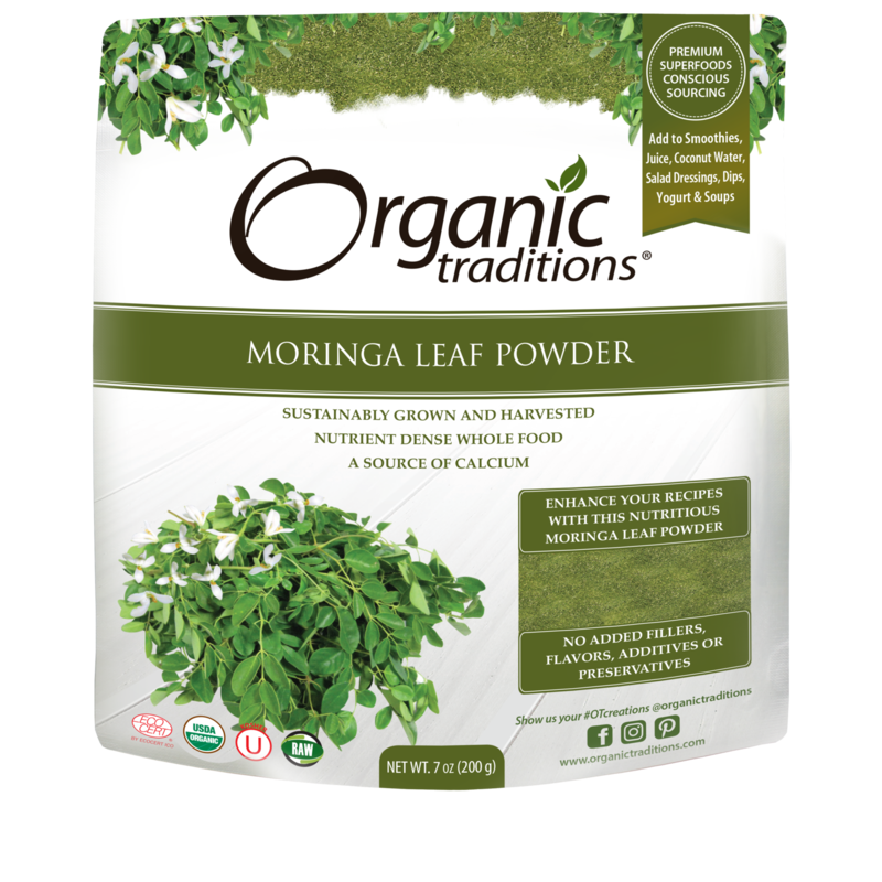 Organic Traditions Organic Traditions Moringa Leaf Powder