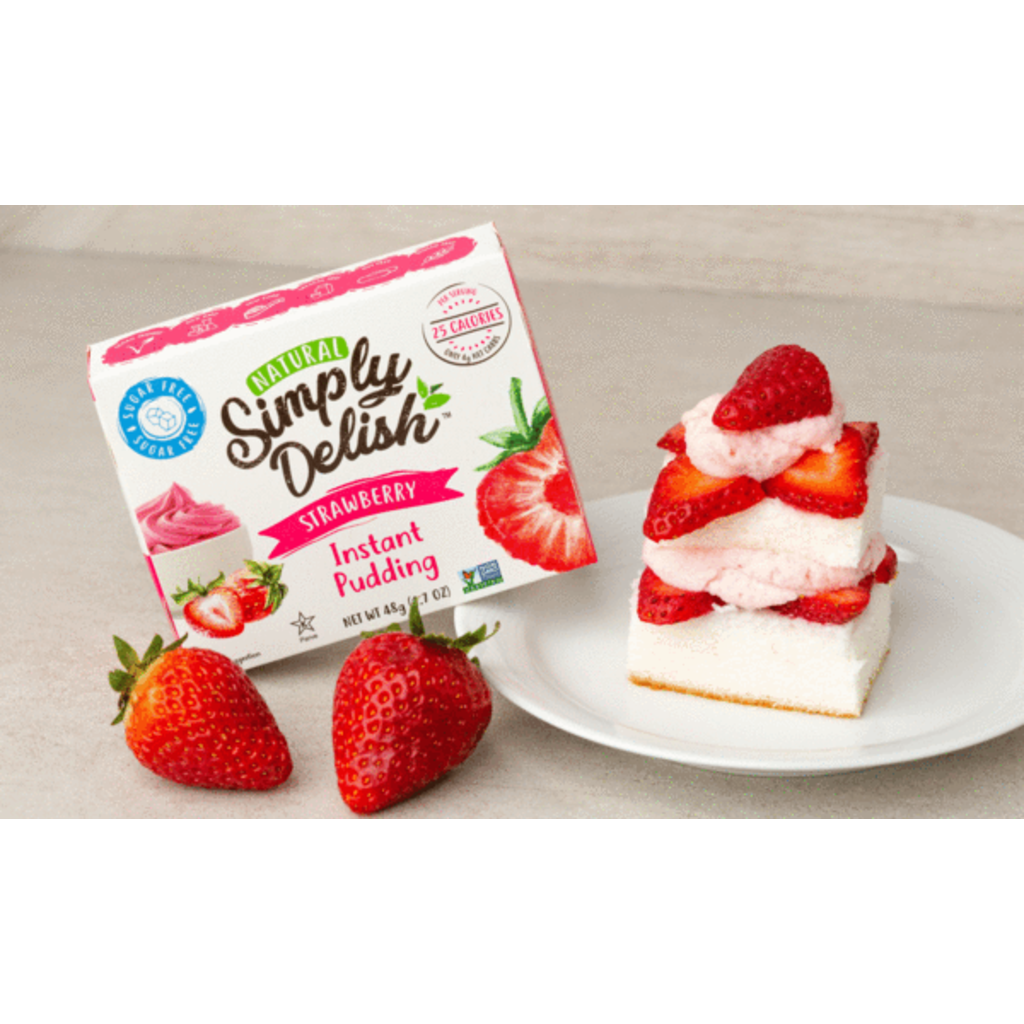 Simply Delish Simply Delish Instant Pudding, Strawberry