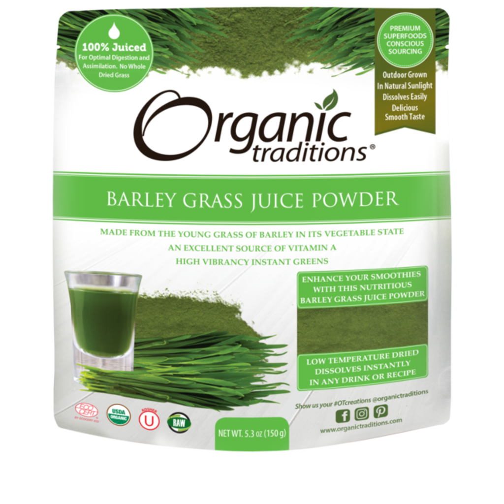 Organic Traditions Organic Traditions Barley Grass Juice Powder (150g)