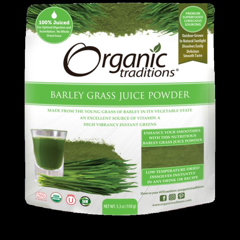 Organic Traditions Organic Traditions Barley Grass Juice Powder (150g)