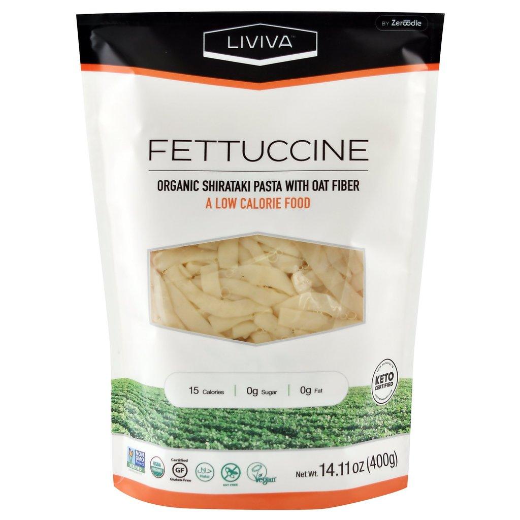Liviva Liviva Organic Shirataki Fettuccine with Oat Fibre 400g