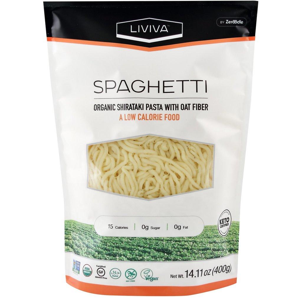 Liviva Liviva Organic Shirataki Spaghetti with Oat Fibre 400g