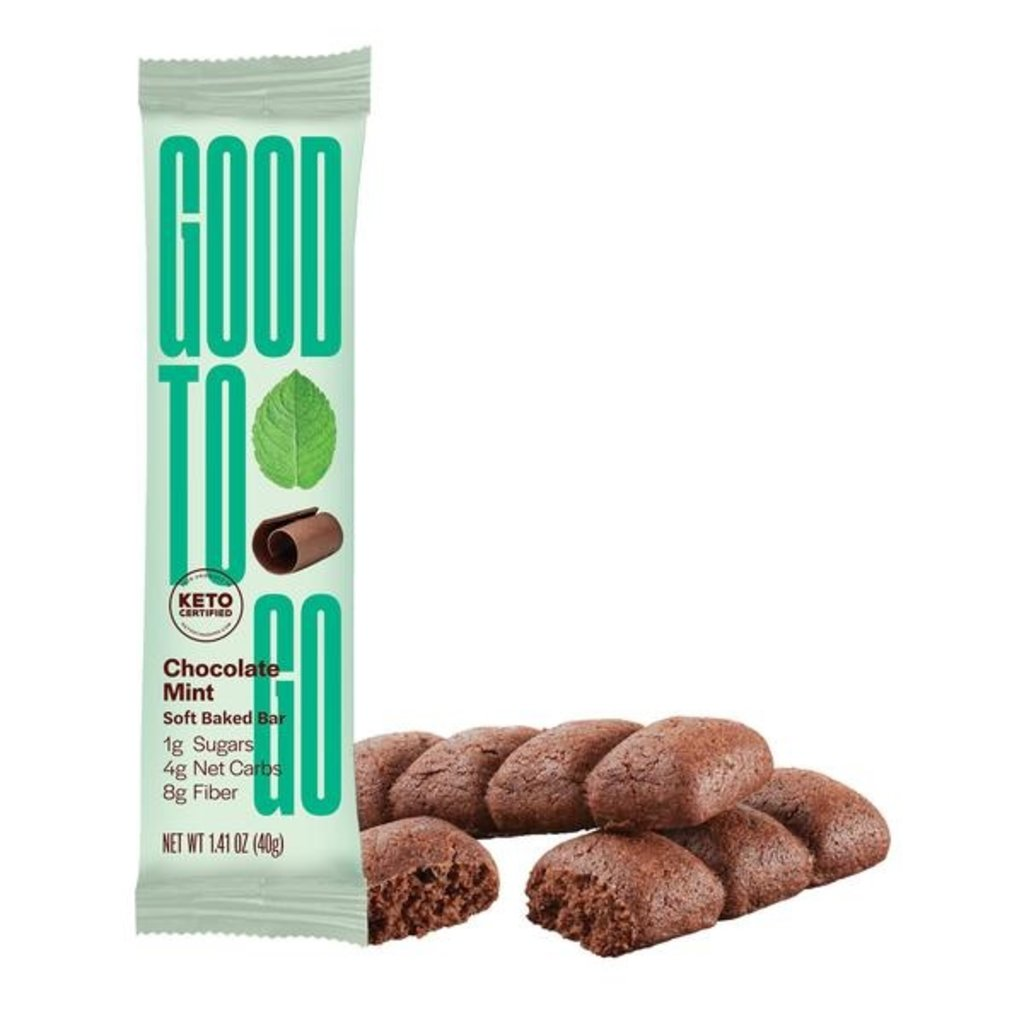 Good to Go Good to Go Keto Bar - Chocolate Mint