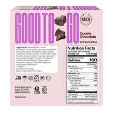 Good to Go Keto Bar - Double Chocolate