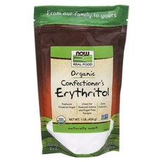 NOW NOW Erythritol, Confectioner's Powder (1 lb.)