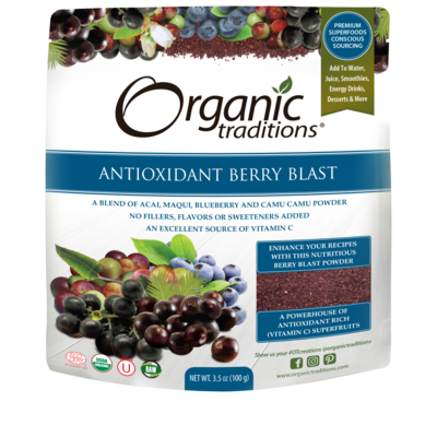 Organic Traditions Organic Traditions Antioxidant Berry Blast (100 g)