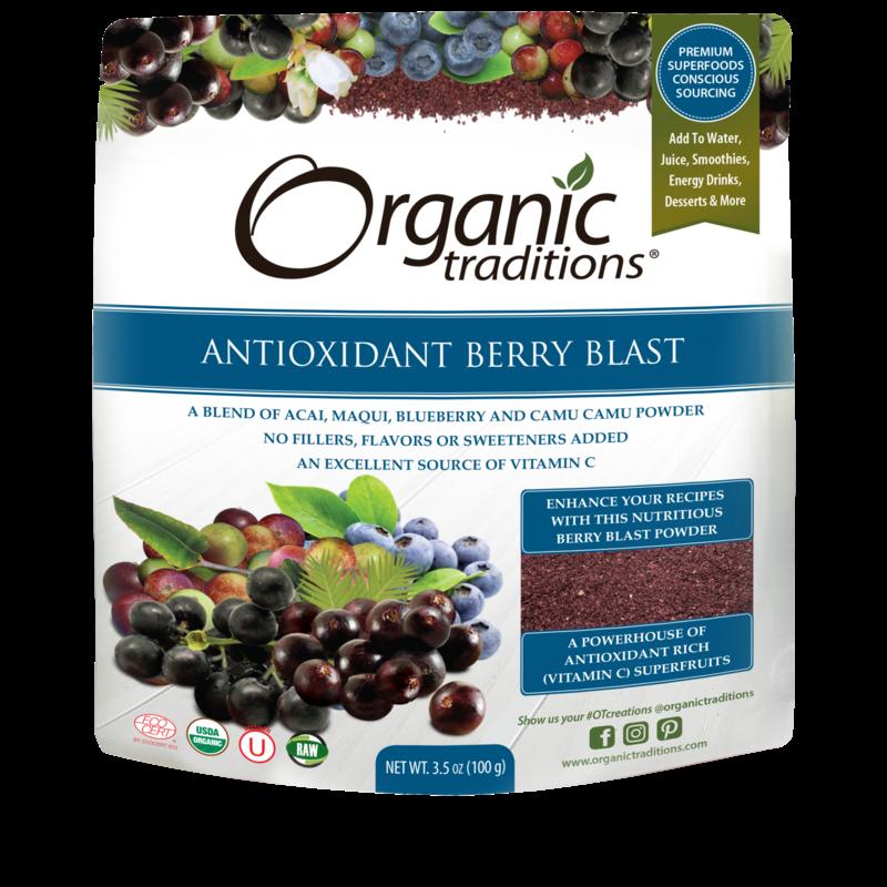 Organic Traditions Organic Traditions Antioxidant Berry Blast (100 g)