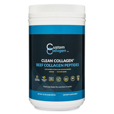 Custom Collagen Custom Collagen - 2 lb. Hydrolyzed Gelatin   Beef Collagen Peptides