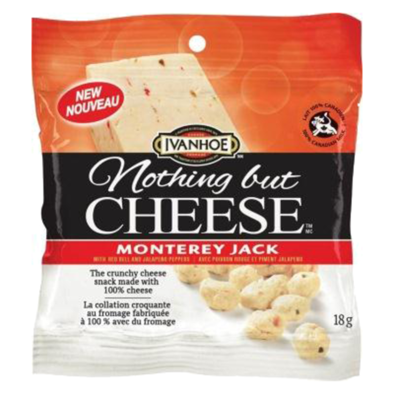 Ivanhoe Cheese Nothing but Cheese - Monterey Jack (18g)