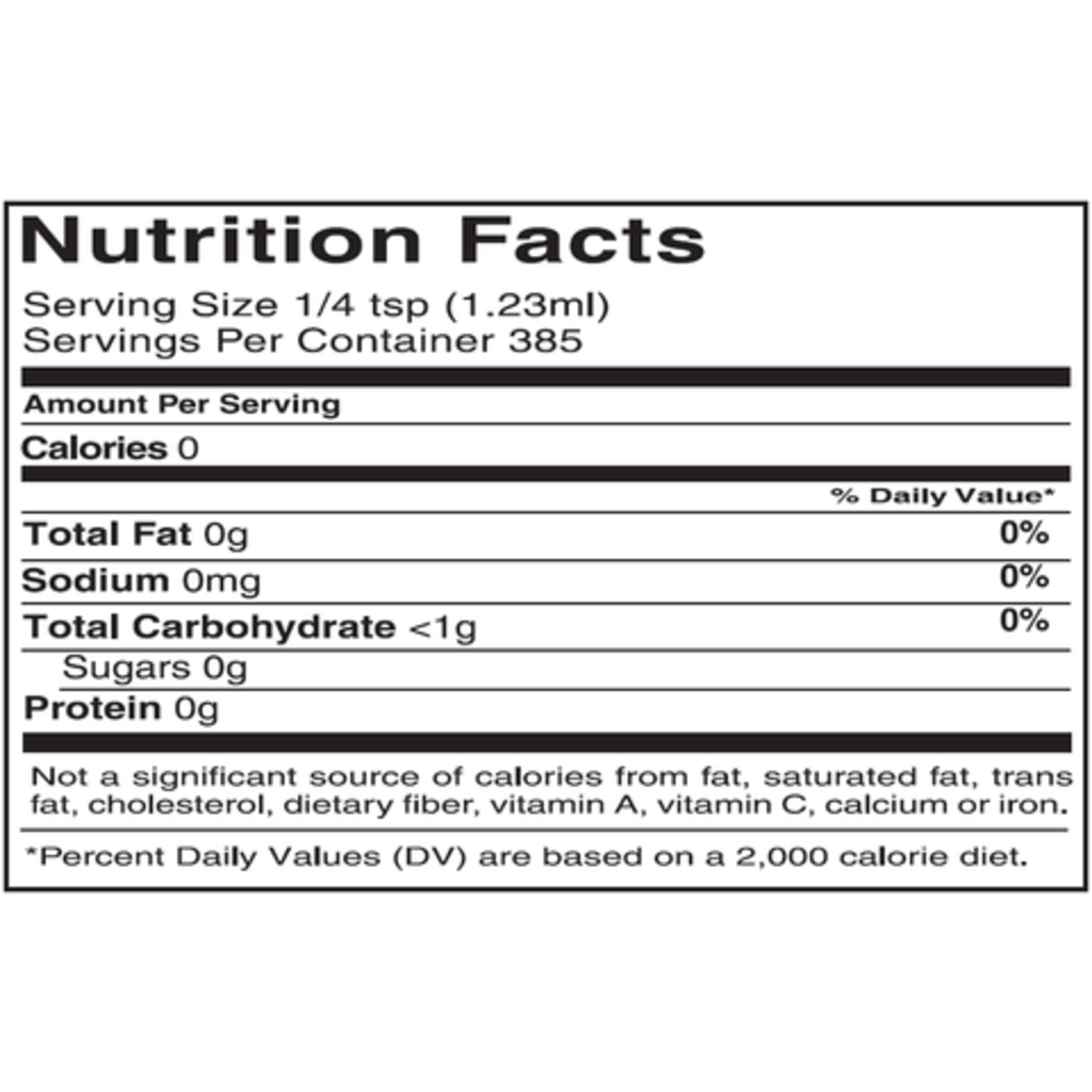 NuNaturals NuStevia Cocoa Syrup Concentrated, 16 oz.