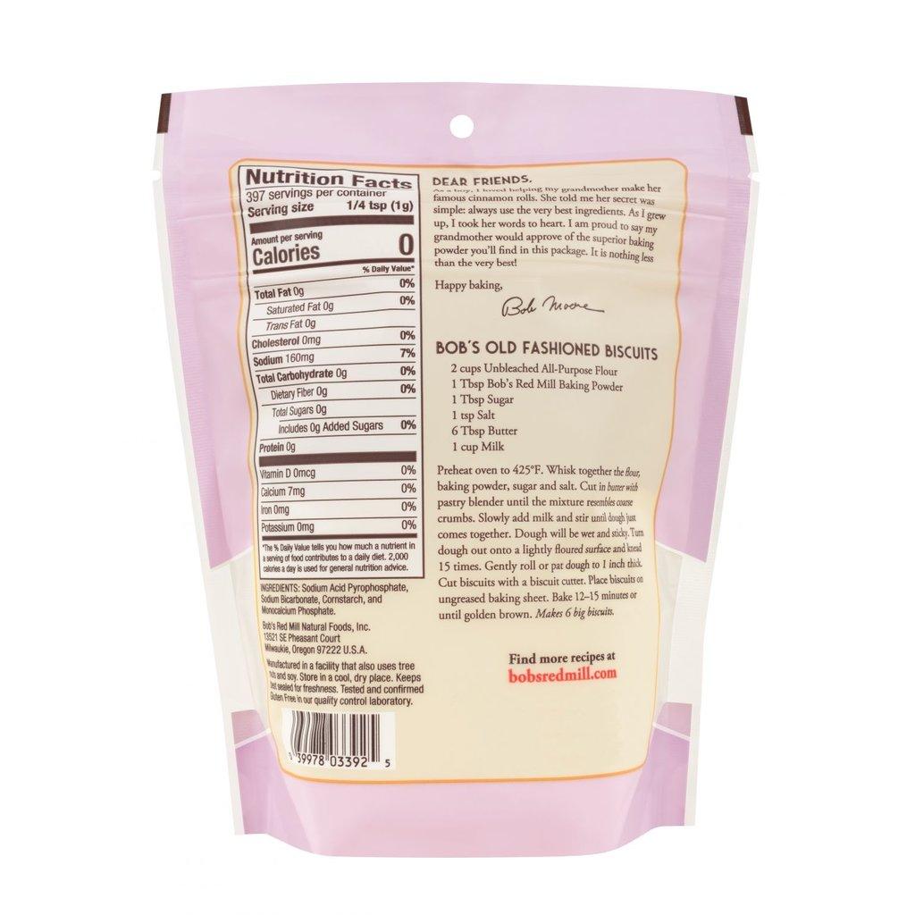 Baking Powder - Non-Aluminum, Double Acting (14 oz.)