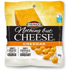 Ivanhoe Cheese Nothing but Cheese - Cheddar 18g