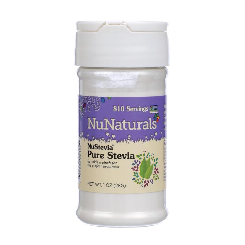 NuNaturals NuStevia Pure Stevia, 1 oz.
