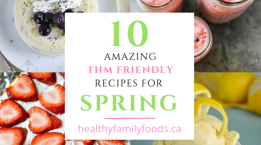 THM Recipe Round up for Spring