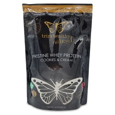 Trim Healthy Mama Trim Healthy Mama Pristine Whey Powder, Cookies and Cream (1 lb. bag)