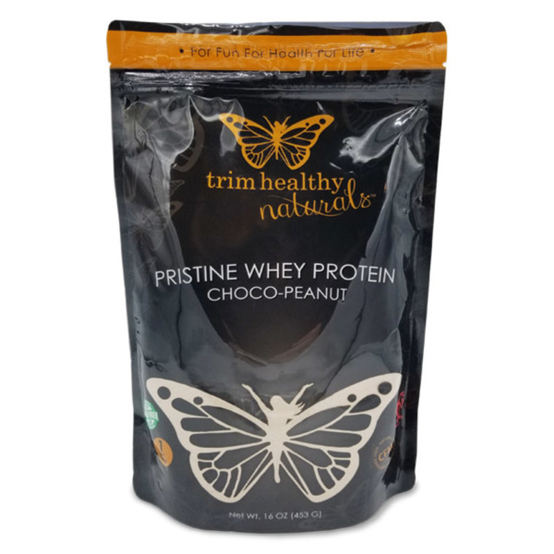 Trim Healthy Mama Trim Healthy Mama Pristine Whey Powder, Chocolate Peanut Butter (1 lb. bag)