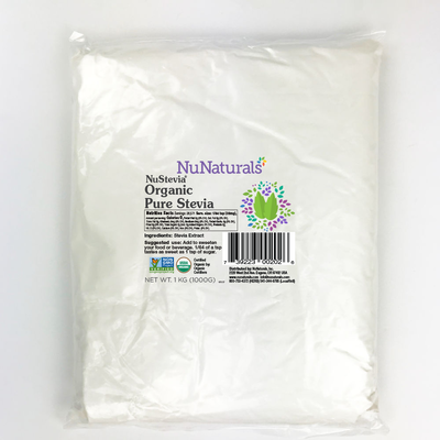 NuStevia Organic Pure Stevia 1kg