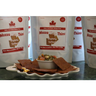 Nutty Bun Bakery Lightly Salted Mozza Chip Thins