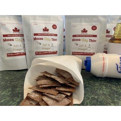 Nutty Bun Bakery Salt and Vinegar Mozza Chip Thins