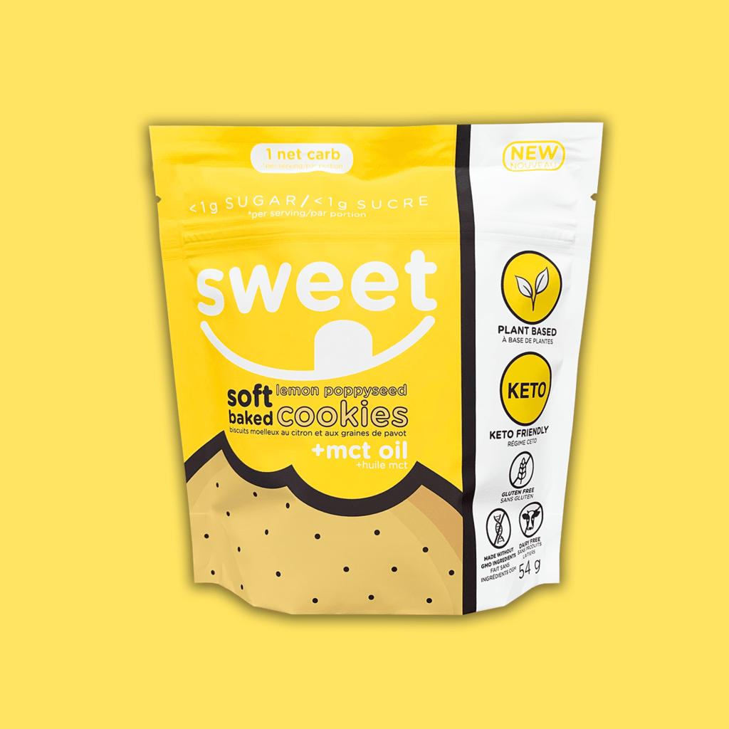 Sweet Nutrition Sweet Nutrition Lemon Poppyseed Cookies