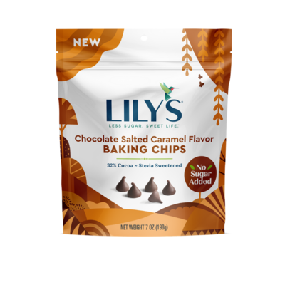 Lily's Sweets Lily's Chocolate Salted Caramel Baking Chips - 7 ounce
