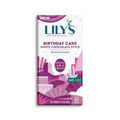 Lily's Sweets Lily's Birthday Cake Chocolate Bar