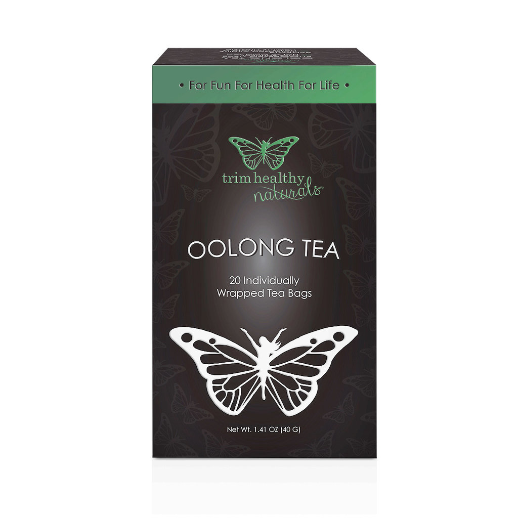 Trim Healthy Mama THM Oolong Tea (Box of 20 individually wrapped bags)