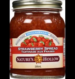 Nature's Hollow Strawberry Sugar-Free Jam Preserves - 10 oz. (280 g)