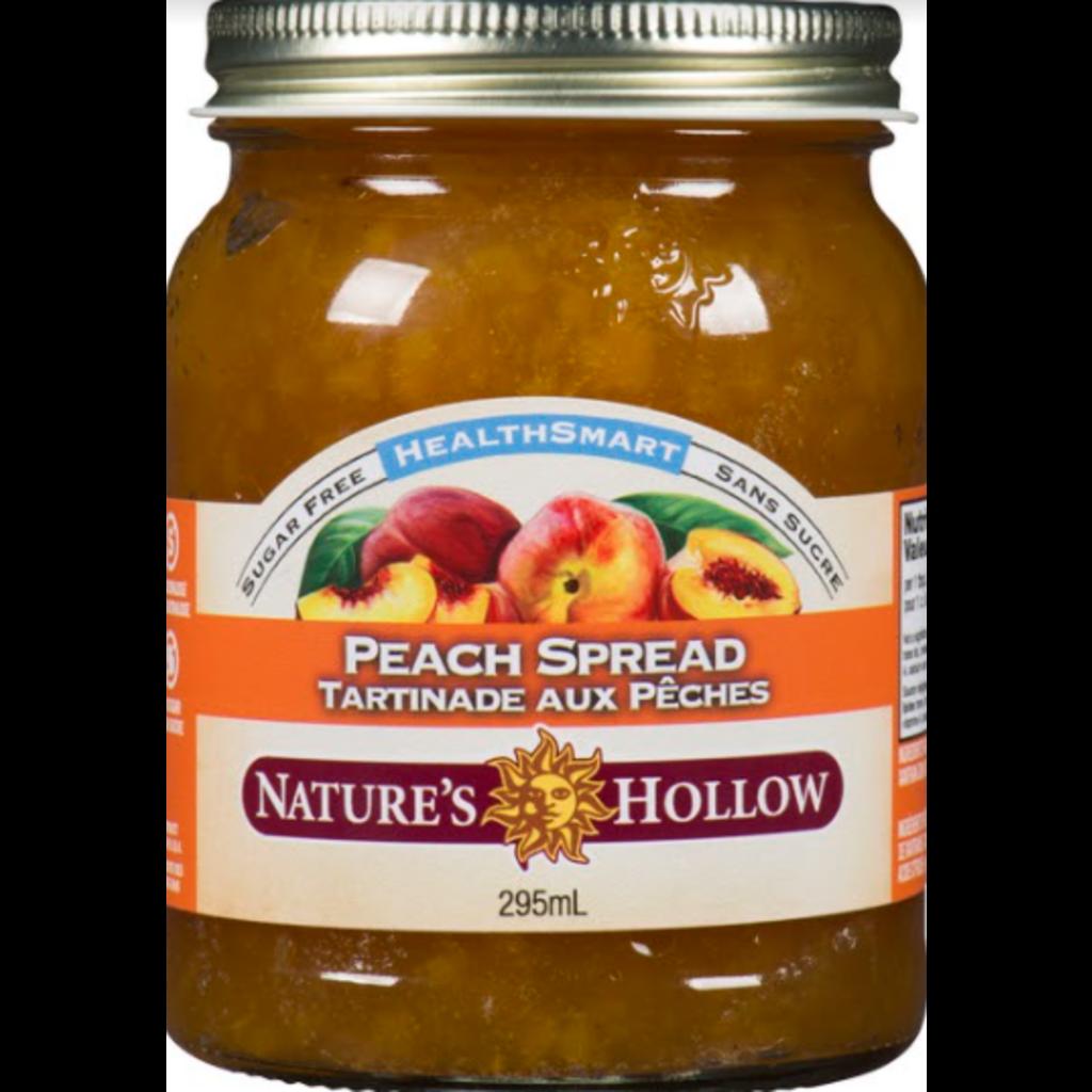 Nature's Hollow Peach Sugar-Free Jam Preserves - 10 oz. (280 g)