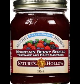 Nature's Hollow Mountain Berry Sugar-Free Jam Preserves - 10 oz. (280 g)