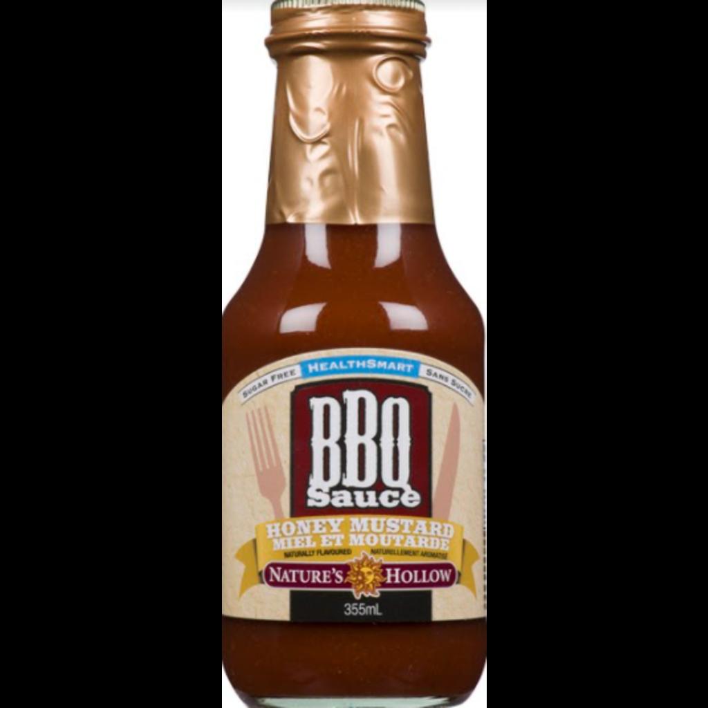 Nature's Hollow Honey Mustard Sugar-Free BBQ Sauce - 12 oz.