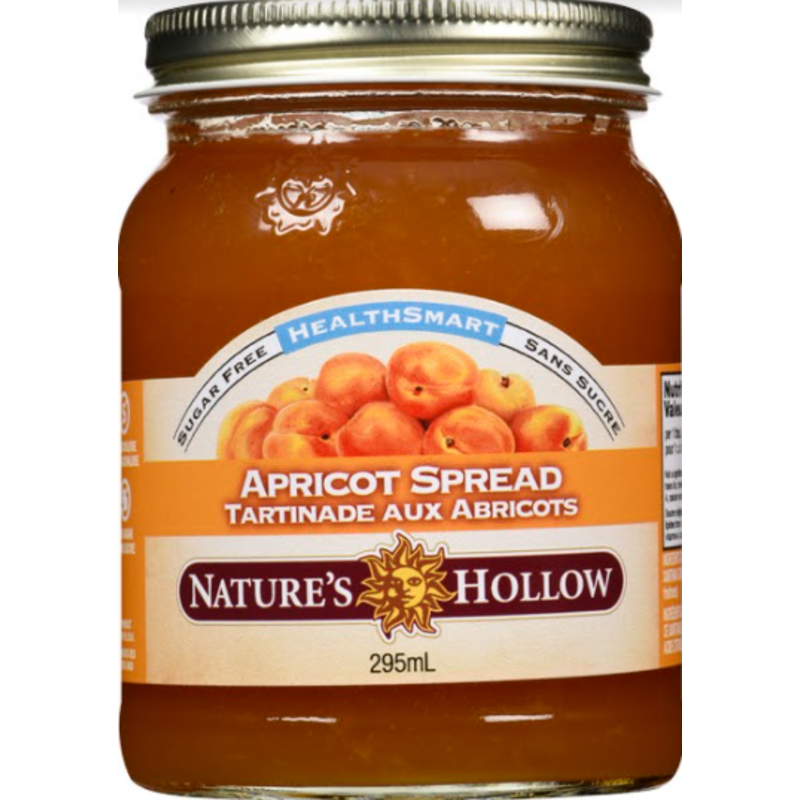 Nature's Hollow Apricot Sugar-Free Jam Preserves - 10 oz. (280 g)