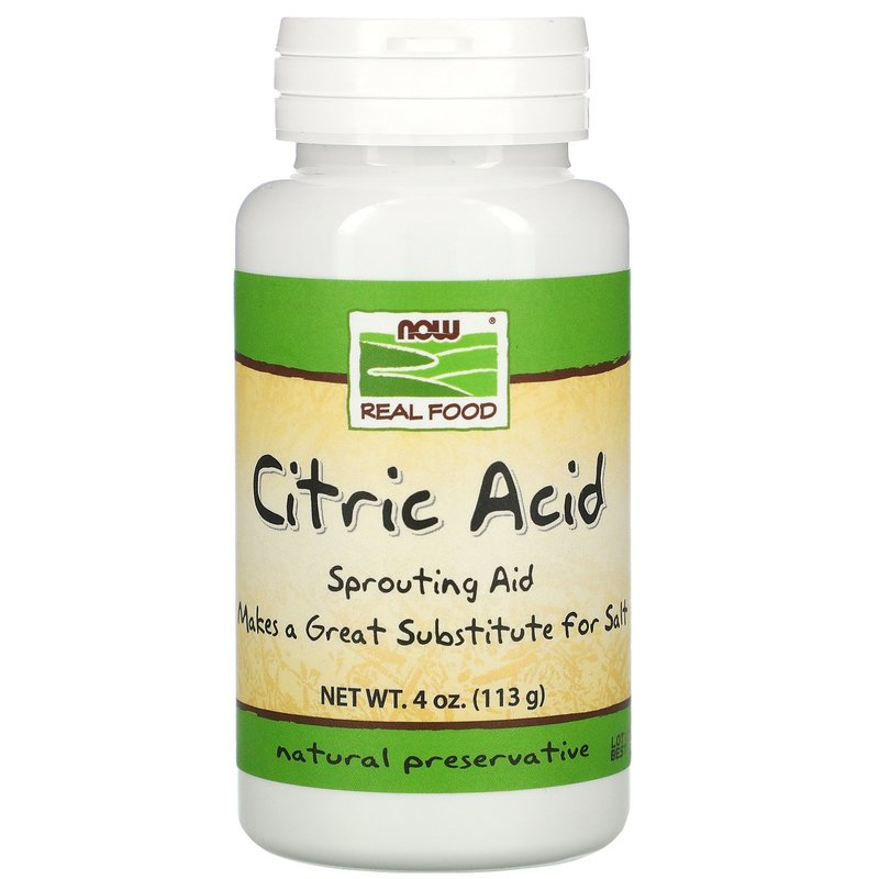 NOW Now Citric Acid 113g