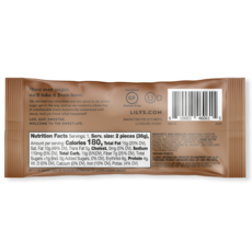 Lily's Sweets Lily's Peanut Butter Cups – 2 Pack – Dark Chocolate
