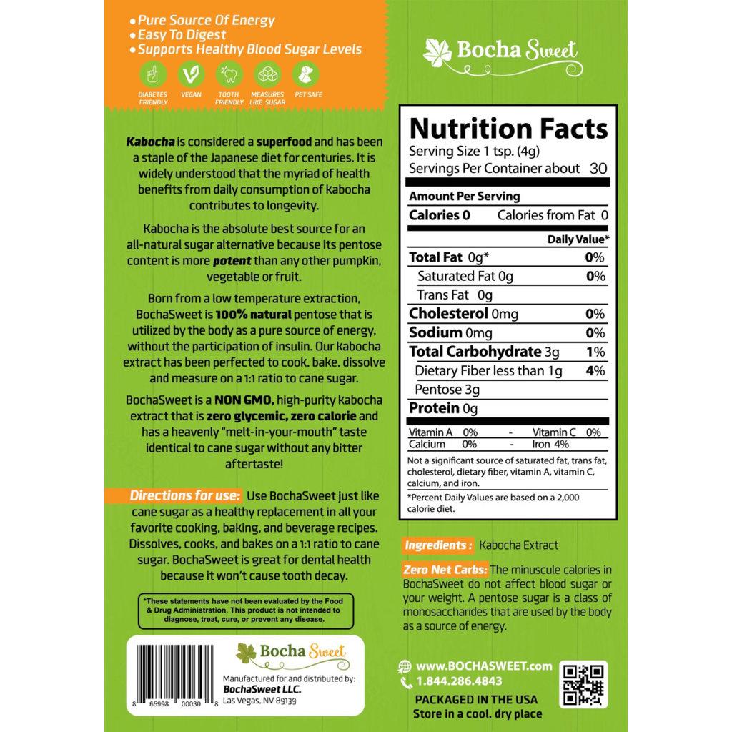 Bocha Sweet Bocha Sweet Granular Sweetener Packets – 30 Count