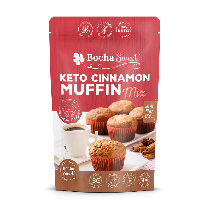 Bocha Sweet Bocha Sweet Keto Cinnamon Muffin Mix