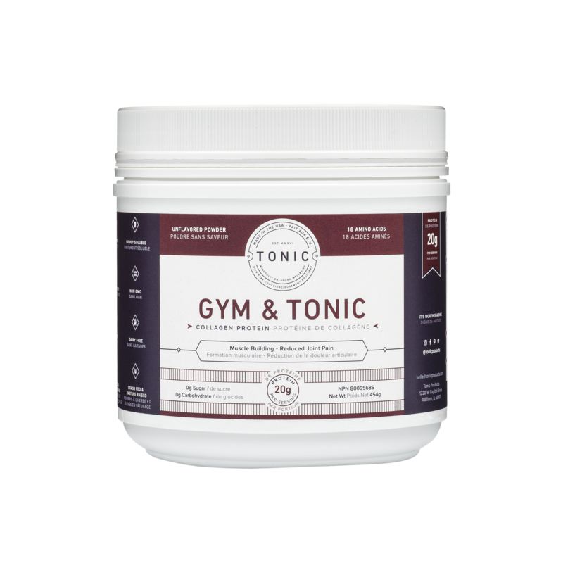 Custom Collagen Gym & Tonic- 454g